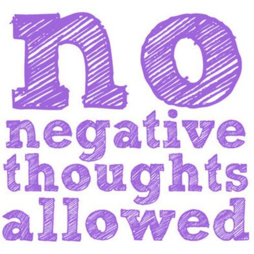 Negativity-thinking